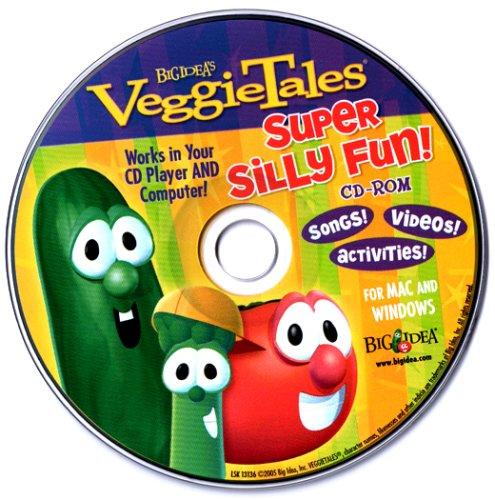 Veggie Tales Super Silly Fun! Cd-rom