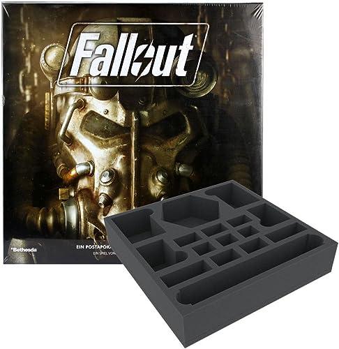 Unbekannt FFG Fallout - Brettspiel + Feldherr Schaumstoffeinsatz - Vorteilspack