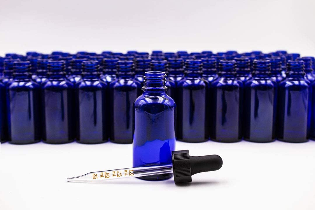 1 oz Import 30ml Cobalt Blue A Bottles Dropper Sales of SALE items from new works Graduated with