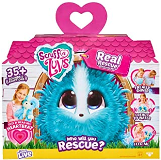 Little Live Pets 30031 Little Live Scruff-a-Luvs Real Rescue Electronic Plush