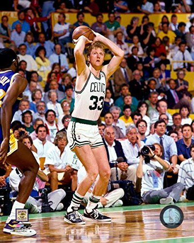 Larry Bird Boston Celtics NBA 8x10 Photograph Legends Collage