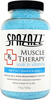 Spazazz SPZ-601 RX Therapy Crystals Container Bath Minerals, 19-Ounce, Muscular Therapy Hot N' Icy