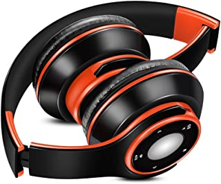 Docooler SG-8 Bluetooth 4.0 + EDR Headphones Wireless Stereo Music Headset Over-ear TF Card FM Radio Foldable Wired Earphone Hands-free w/Mic Orange