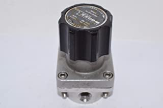 0-50 PSIG Out TESCOM SG163141V SG1 Single-Stage Pressure Regulator Teflon Seals SST Body//Diaphragm 0.06 CV 4 port 1//4 NPTF 1//4 NPTF