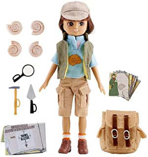 Lottie Fossil Hunter Doll   STEM Toys for Girls & Boys   Science Toys   Science Doll   Dinosaur Doll LT053