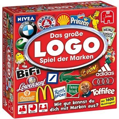 Jumbo Spiele 12756 - LOGO - Das große Spiel der Marken