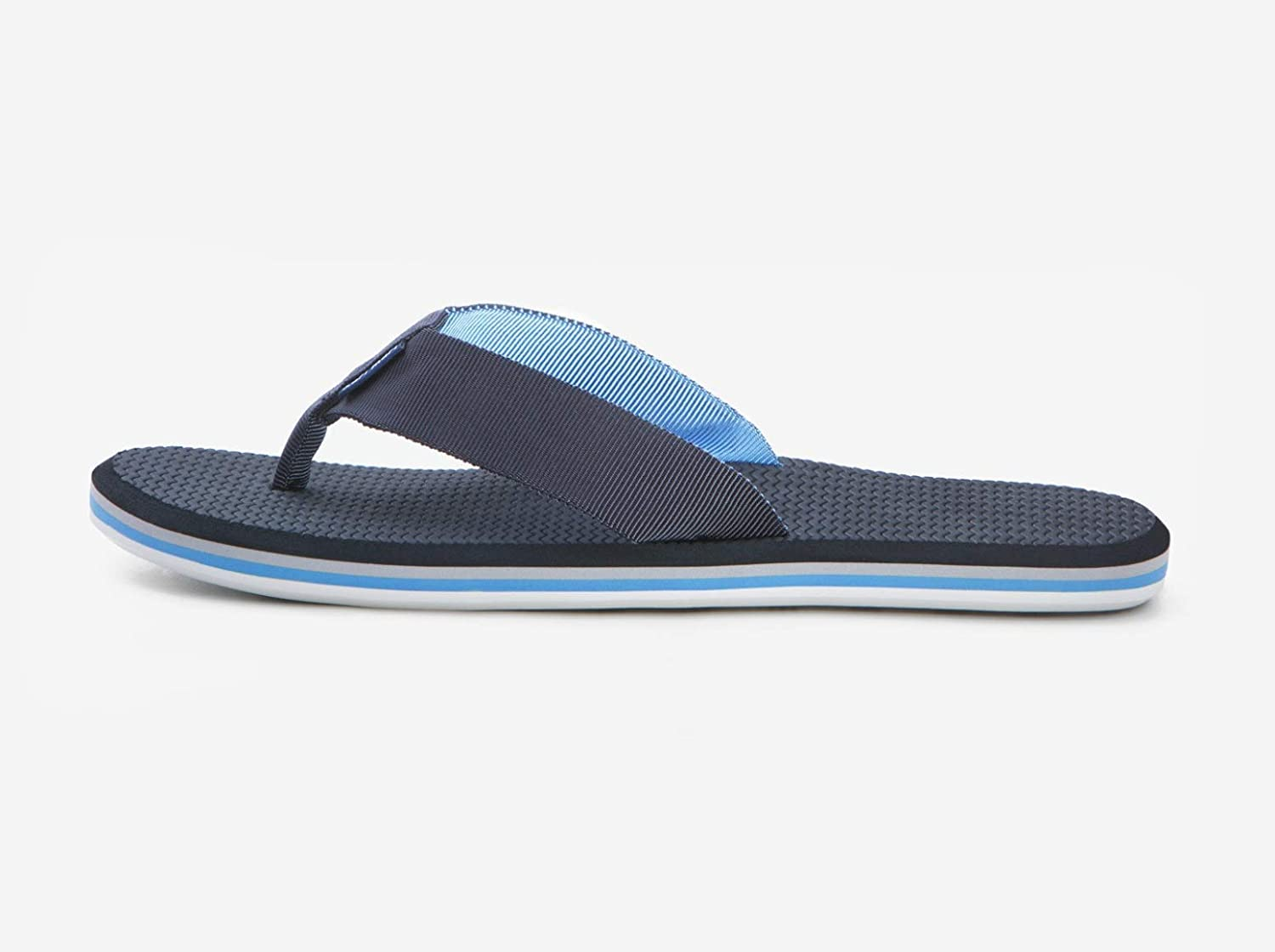 Mens Premium Nubuck Leather Flip Flops with Memory Foam-Lined Nylon Straps and Firm Arch Support Hari Mari Scouts