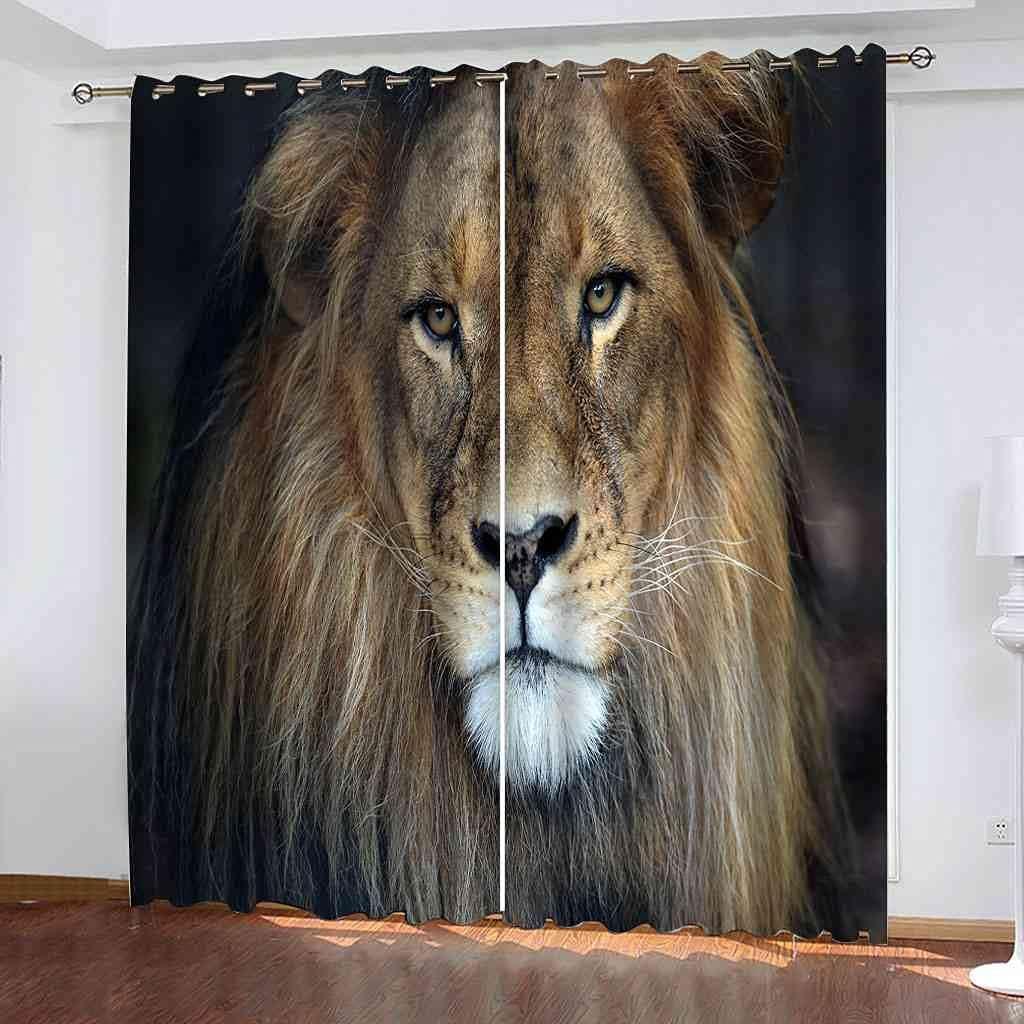 BXXYXH Blackout Curtain for Bedroom OFFicial shop 3D Simp Super sale 210X214Cm Printing -