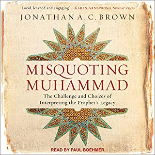 Misquoting Muhammad audiobook cover art