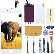 Screen Replacement for iPhone 6 White Colour Including All Tools, Repair Kit with LCD Display Touch Digitizer Screen Frame Assembly for iPhone 6, 4.7'' by Dalkat Dalee