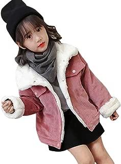 TiTCool Toddler Baby Girls Boys Corduroy Plus Plush Winter Coat Jacket Thick Outwear