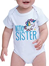 7 ate 9 Apparel Girls Little Sister Unicorn Onepiece