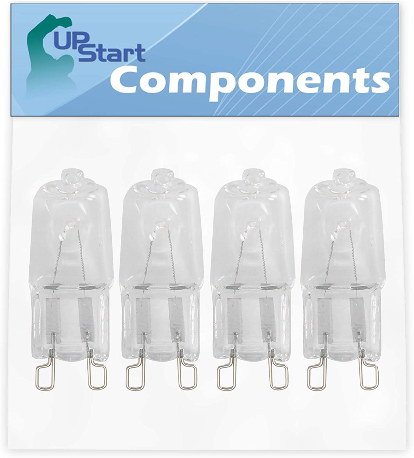 4-Pack W10709921 Microwave Light Bulb Replacement Albuquerque Mall safety Part for Numbe