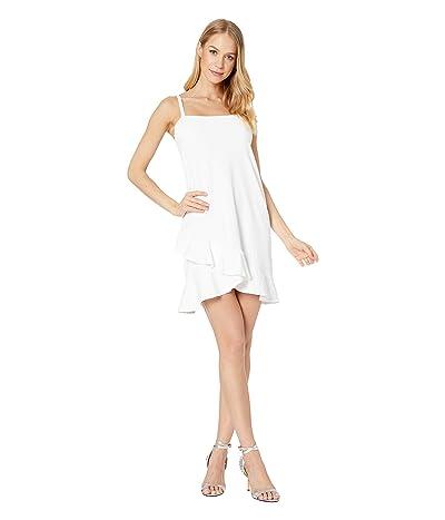 Susana Monaco String Bottom Ruffle Dress (Sugar) Women