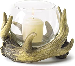 Rustic Antler Candleholder - Style 38444