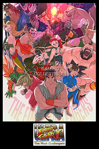 PrimePoster - Ultra Street Fighter II The Final Challengers Poster Glossy Finish Made in USA - YEXT697 (24' x 36' (61cm x 91.5cm))