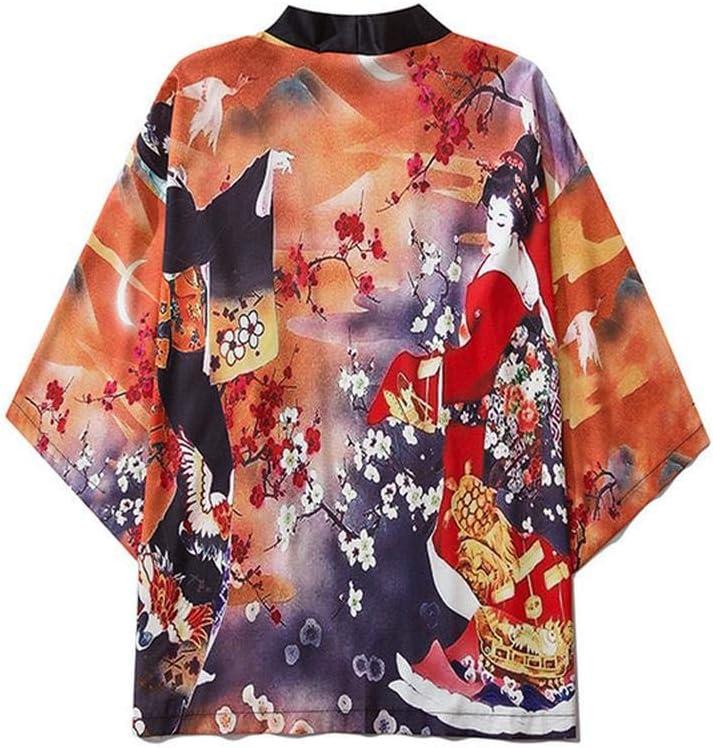Yicaler Japanese Max 58% OFF Kimono Save money Cardigan - Autumn Ancient Style Harajuku