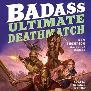 Badass: Ultimate Deathmatch audiobook cover art