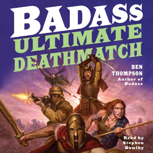 Badass: Ultimate Deathmatch audiobook cover art