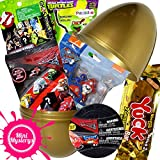 Mini Mysterys Surprise Egg Toy Bundle Inc Paw Patrol, Disney Cars, Grossery Gang...