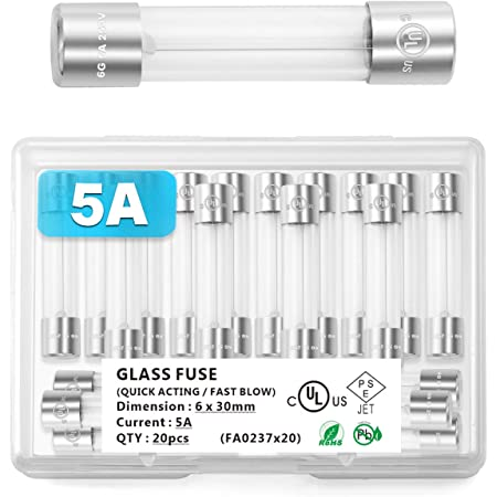Glass Fuse 15 Amp 510-AGC15BP 2301510-AGC15BP 510AGC15BP AGC15BP