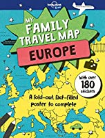 My Family Travel Map - Europe