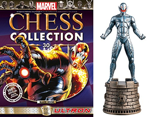 Eaglemoss Marvel Chess Figurine Collection Nº 30 Ultron