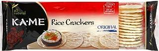 Kame Plain Rice Crunch Cracker, 3.5 Ounce - 12 per case.