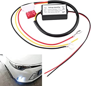Daytime Running Light,  12-18V Daytime Running Light Relay Control Switch Harness for Auto Car Controller On/Off