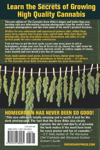 61FPJ6jIA L - The Cannabis Grow Bible: The Definitive Guide to Growing Marijuana for Recreational and Medical Use (Ultimate Series)