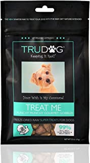 Real Meat Organic Dog Treats - Treat Me: Freeze-Dried Raw Super Treats (2.5oz) - 100% All Natural Treats Support Healthier Teeth and Gums, Skin and Coat, and A Boosted Immune System