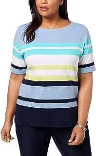 3e7de8749c Amazon.com: Plus Size - Blouses & Button-Down Shirts / Tops & Tees ...