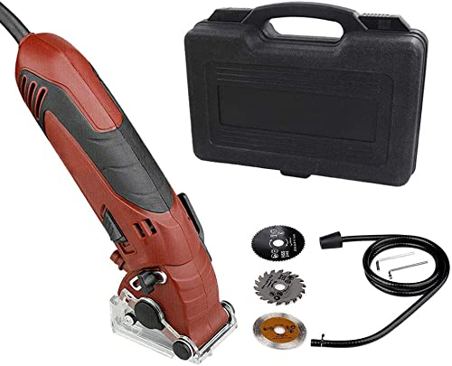 new arrival Handy Circular Saw Machine Set, Household Multi-function Grinder, 110V popular 400W Electric Powered, Steady and Safe Cutting wholesale Tool (Circular Saw Set) online sale