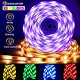 LED Ruban [Version Avancés] Reactive Musique 10M 5050 RGB+W Bande Lumineuse...