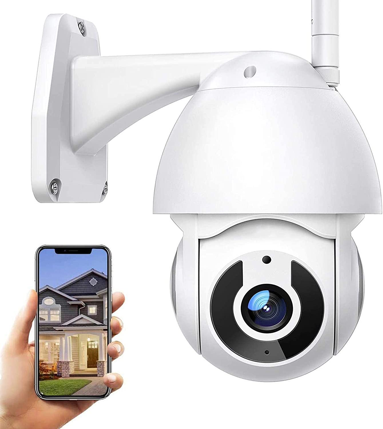 Outlet SALE Large discharge sale Outdoor Surveillance Camera 1080P 360°pa Security WiFi HD