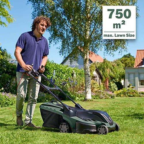 Bosch AdvancedRotak 750 Electric Rotary Lawnmower, Cutting Width 45 cm