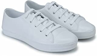 Shoefly Men White-799 Casual Sneakers Shoes.