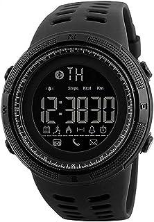 Bluetooth APP Remind Smart Watch Men Pedometer Calories Waterproof Digital Outdoor Sport Clock Men's Wristwatch Gift for Boys Friend/Father