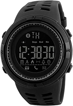 Bluetooth APP Remind Outdoor Sport Smart Watch Men Pedometer Calories Waterproof Digital Clock Fitness Tracker Men's Wristwatch