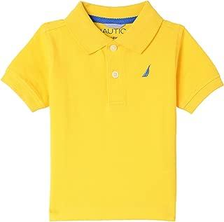 Boys' Short Sleeve Solid Pique Polo