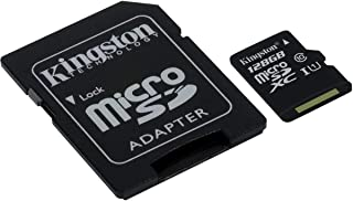 Kingston micro SDXC 128GB Class 10 with SD Adapter - SDCX10/128GB