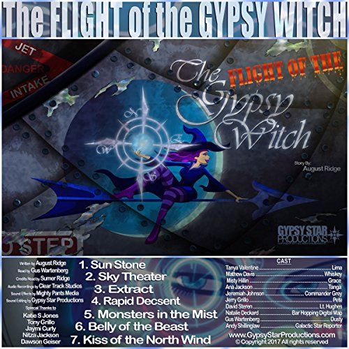 The Flight of the Gypsy Witch audiobook cover art