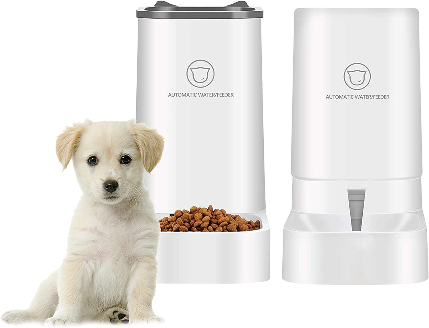 Automatic pet Feeder Large special price !! and Water Dispenser Dog Cat Set Big Baltimore Mall Cap