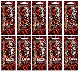 Ed Hardy BUTTER ME BROWN [10 PACKETS] DHA FREE Formula .7 fl. oz each