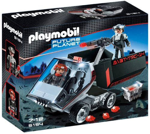 PLAYMOBIL Future Planet - Space Darksters Camióncañónlás, Juguete Educativo, Multicolor, 30 x 10 x 25 cm, (626711)