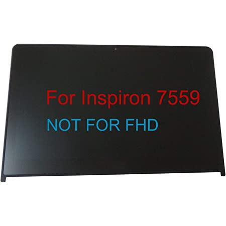 Replacement Laptop Screen for Dell Inspiron 15 7559 LATITUDE E5570 ALIENWARE 15 R2 4561N 04561N YHDGT 0YHDGT 15.6 LED Display Panel Full-HD Non-IPS