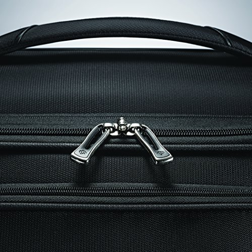 Samsonite Mightlight 2 Softside Luggage with Spinner Wheels, Black, Carry-On 19-Inch