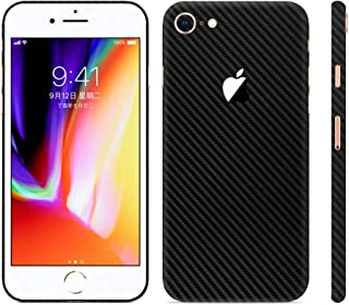 Bloom Skins for Apple iPhone 7 | Luxury Carbon Fiber Protective 3M Vinyl Skin Decal Wrap Film Premium Ultra Slim Cover Sticker Back with 3D Texture | Made in USA