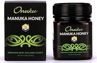 Onuku Premium New Zealand UMF 20+/MGO 830+ (250G) Authentic Manuka Honey   100% Pure Mineral Rich Properties Non GMO Unpas...