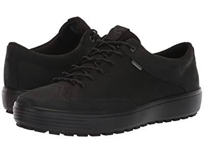 ECCO Soft 7 Tred GORE-TEX(r) Tie (Black/Black) Men